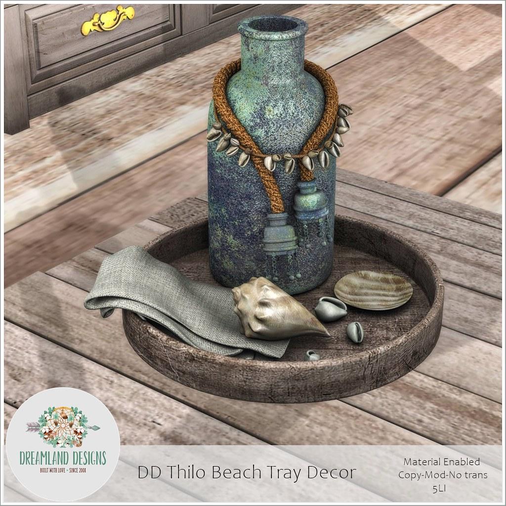 DD Thilo Beach Tray DecorAD