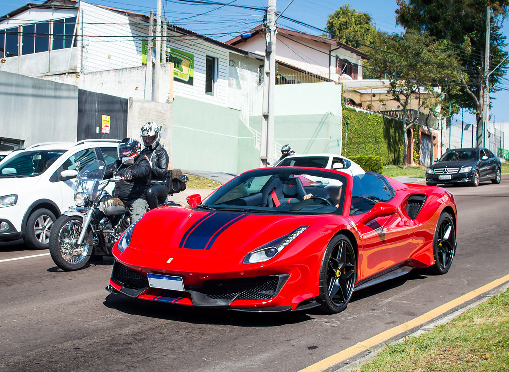 Pista Spider Rosso F1