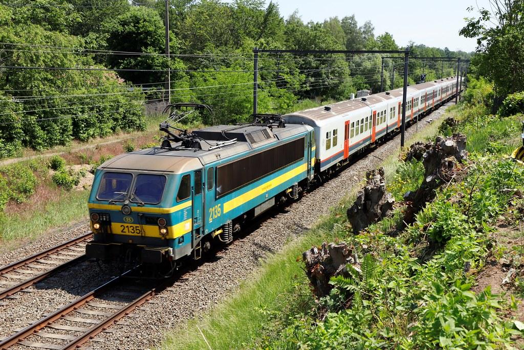 NMBS 2135 - Zelem - 8/06/2021.