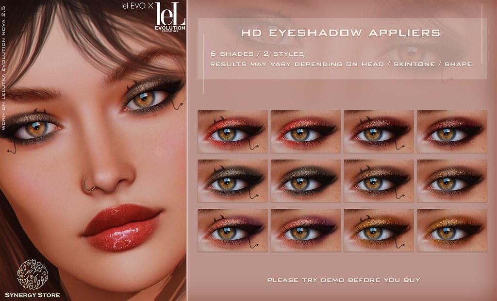Synergy – Lelutka HD Eyeshadow Applier for EVO/EVO X heads – Arad♥