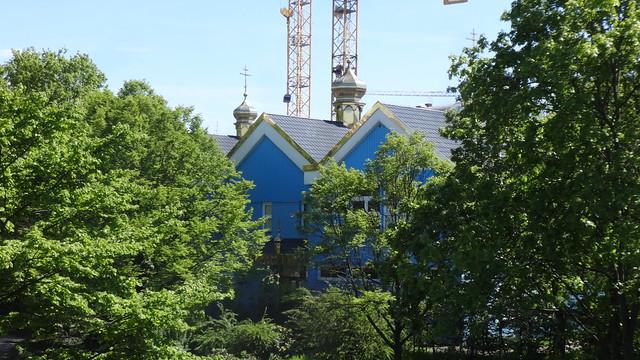 2008/09 Berlin russisch-orthodoxe Kirche Schutzmantel/Umhüllung der Gottesmutter (Pokrov Bogorodizy) Wintersteinstraße 24 in 10587 Charlottenburg