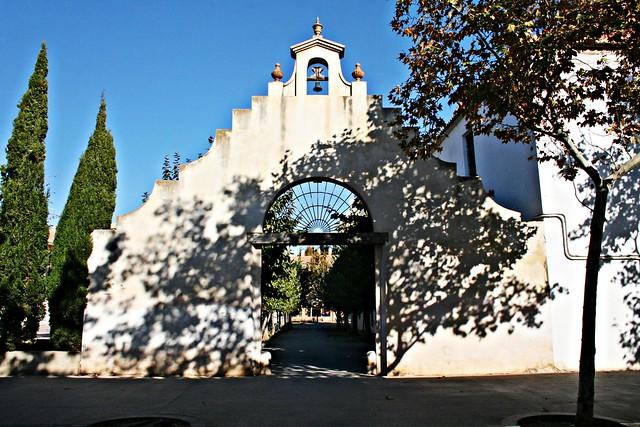 Patio del antiguo Convento de Santa María de Jesús - València