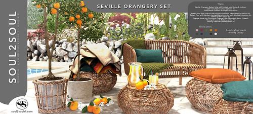 Soul2Soul. Seville Orangery Set at The Liaison Collaborative (TLC) event