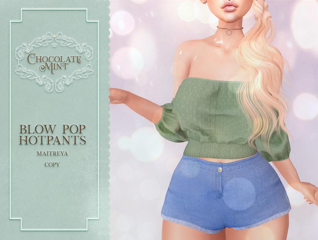 c.M Blow Pop HotPants