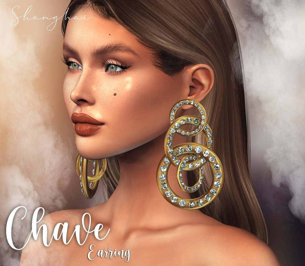 – shanghai – Chave Earring – Happy Weekend Event!!