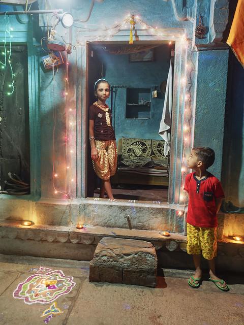 Diwali magic night...India 2017