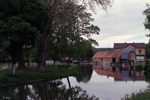 L'ancien moulin et la fenderie de Rugles