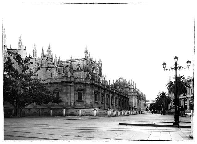 High Key Morning in Sevilla