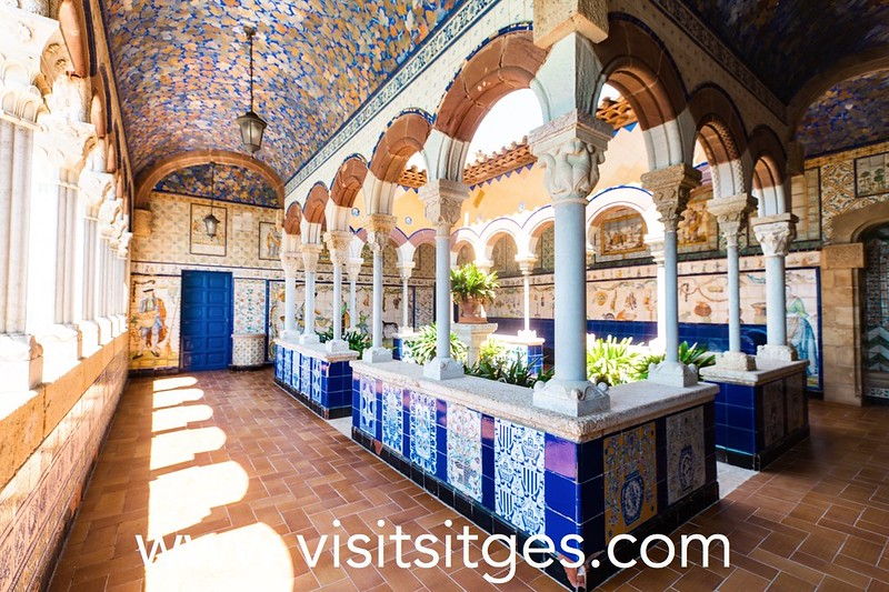 Visita al Palau de Maricel
