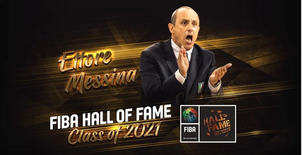 Ettore Messina ufficialmente ammesso nella Fiba Hall of Fame