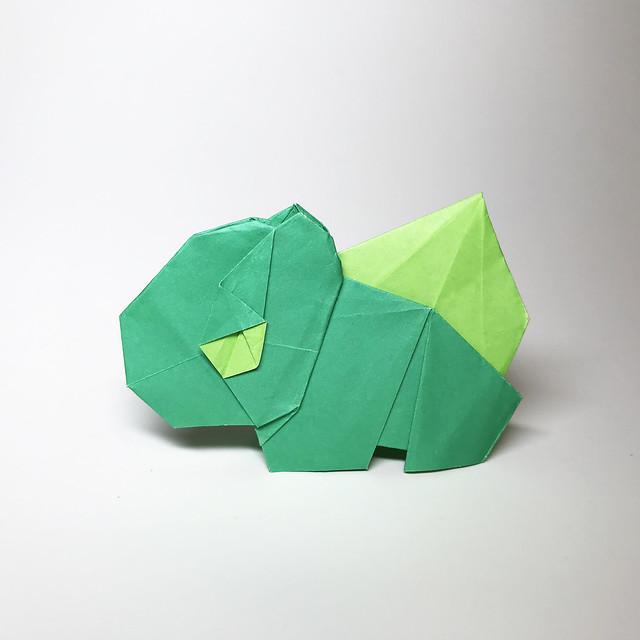 Origami Pokemon - Bulbasaur