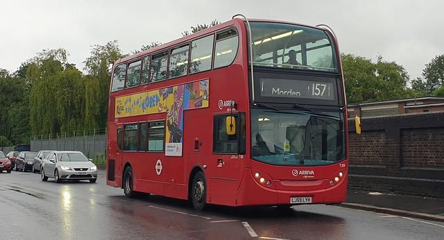 Arriva London T109 (LJ59 LYH) Selhurst 18/6/21