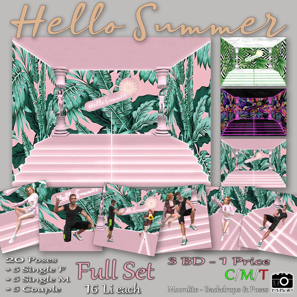 Hello Summer – Full Set (SL18B)