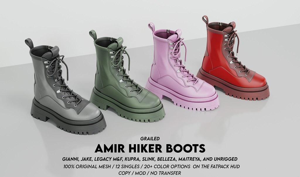 Amir Hiker Boots