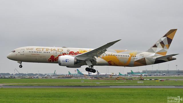 Etihad Airways 🇦🇪 Boeing 787-9 Dreamliner A6-BLF