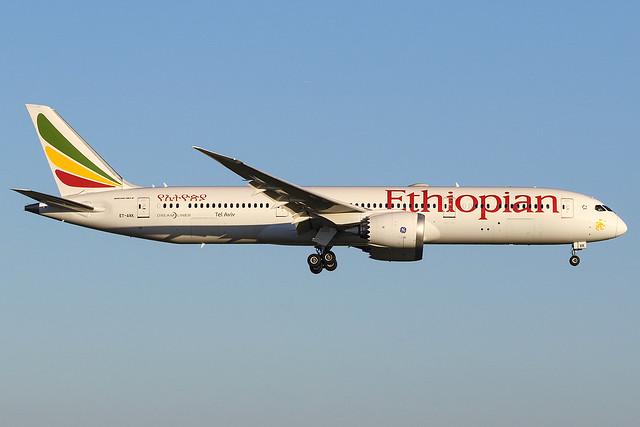 Ethiopian Airlines Boeing 787-9 ET-AXK