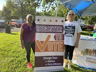 Lexington Voter Registration June 2021