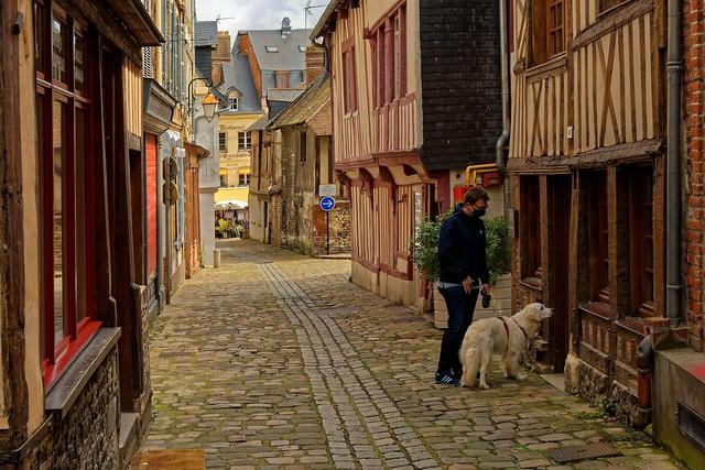 Honfleur / Rue des Lingots