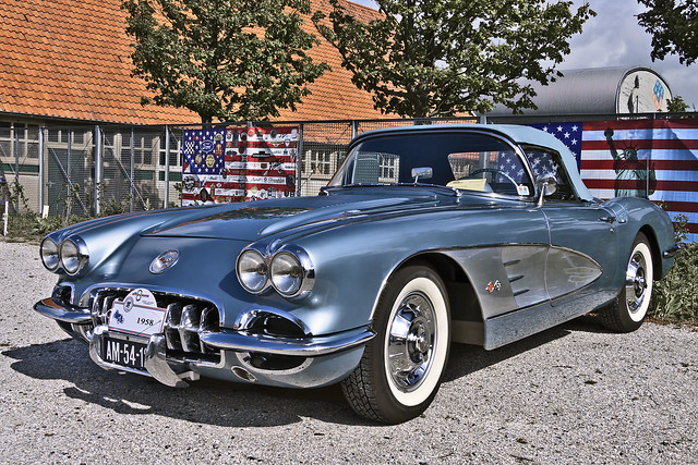 Chevrolet Corvette C1 Convertible 1958 (6176)