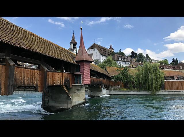 Lucerne - Spreuerbrücke