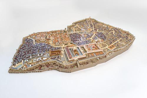 First Century Jerusalem - ירושלים של המאה הראשונה - (Second Temple period circa 70 CE)