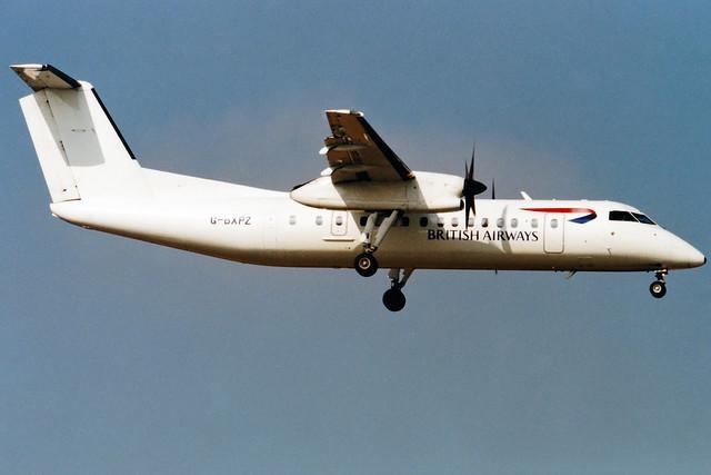 British Airways (Brymon Airways) | De Havilland DHC-8-300 | G-BXPZ | London Gatwick