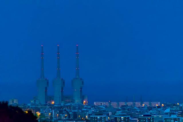 Sant Adrià at blue o'clock