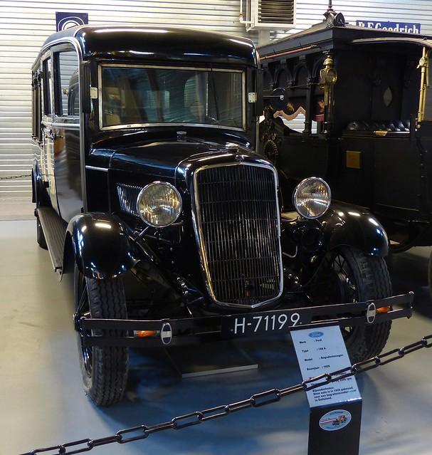 1928 Ford Model A Hearse black vr2