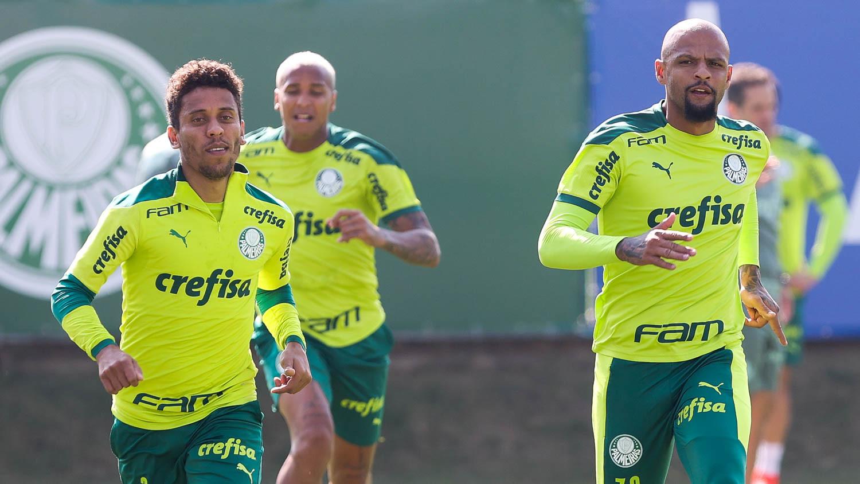 Com novas baixas, Palmeiras inicia preparativos para encarar o América-MG; veja provável escalação