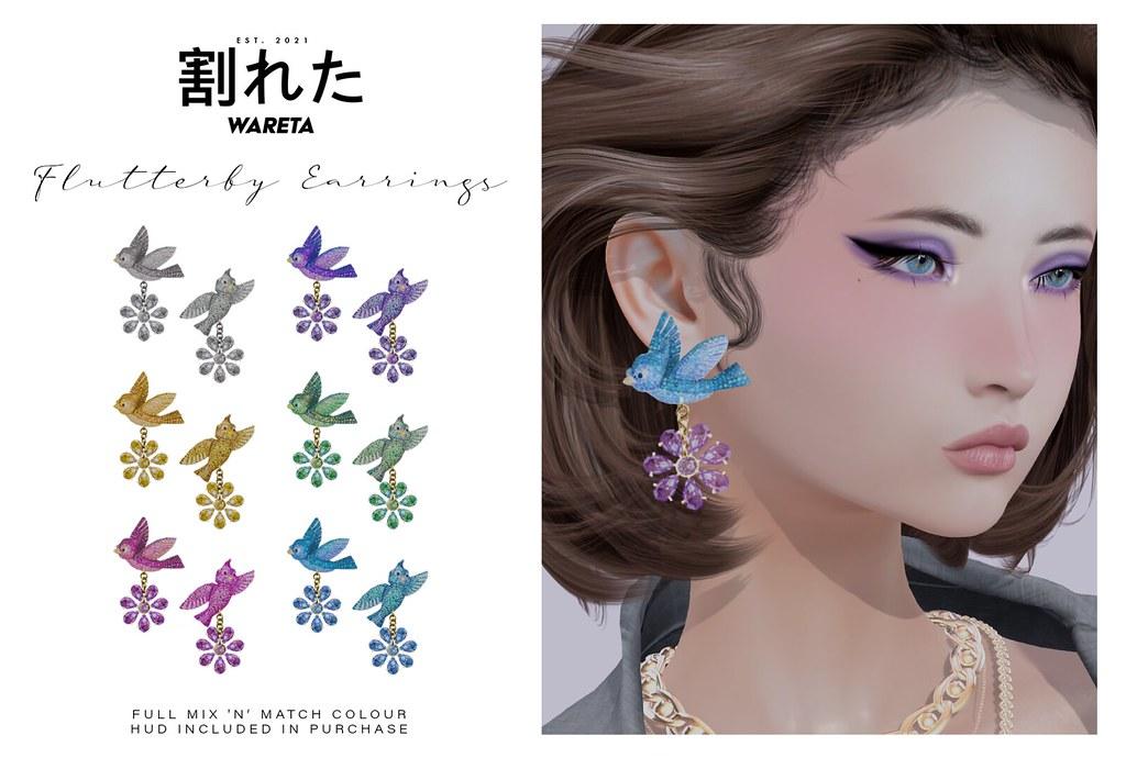 .WARETA. Flutterby Earrings x Wanderlust Weekend @ Mainstore
