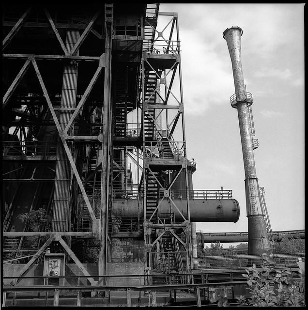 Duisburg, Germany, former Steel Plant