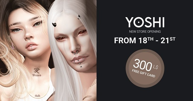 300L Free Gift Card For Group Members To Celebrate New Location At Yoshi!