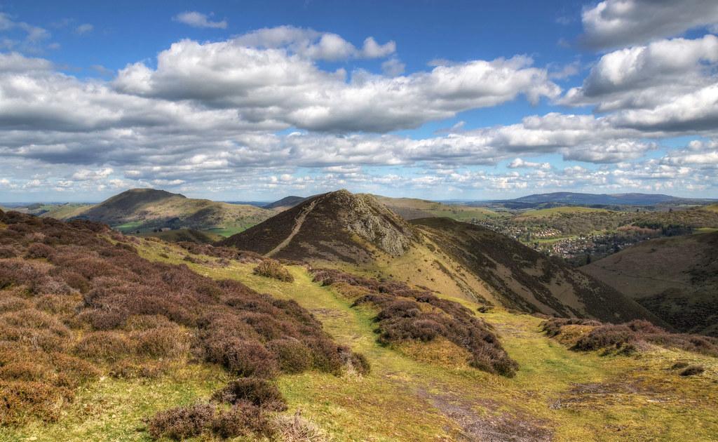 Shropshire Hills near Church Stretton