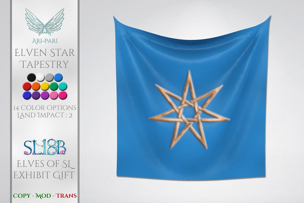 [Ari-Pari] Elven Star Tapestry