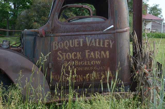 Boquet Valley Stock Farm Truck