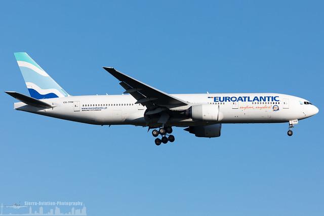 CS-TFM EuroAtlantic Airways Boeing 777-212(ER) (FRA - EDDF - Frankfurt)