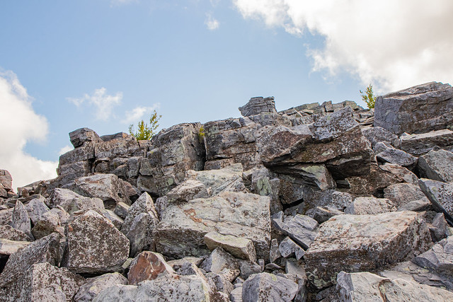 Rocks Above the Trail