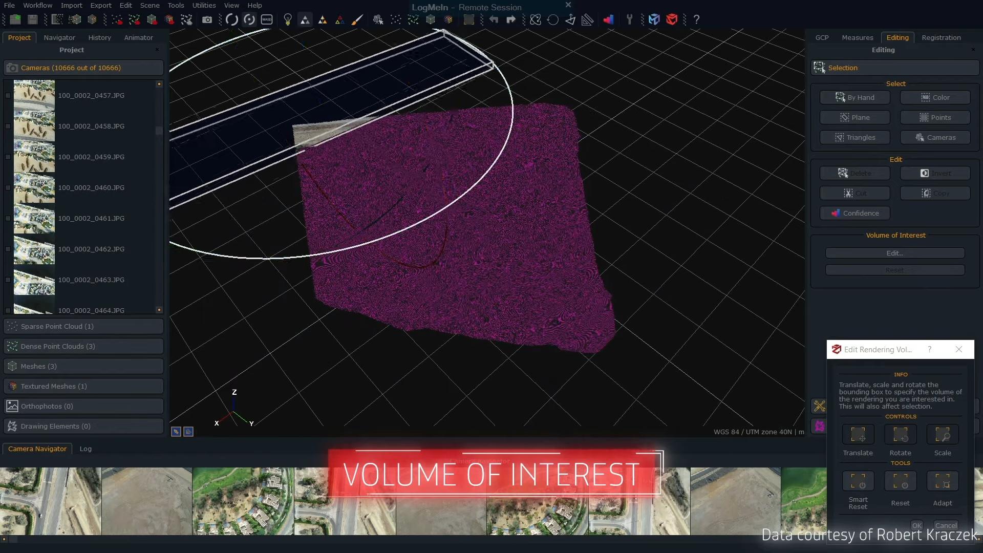 Working with 3Dflow Zephyr 6.002 full