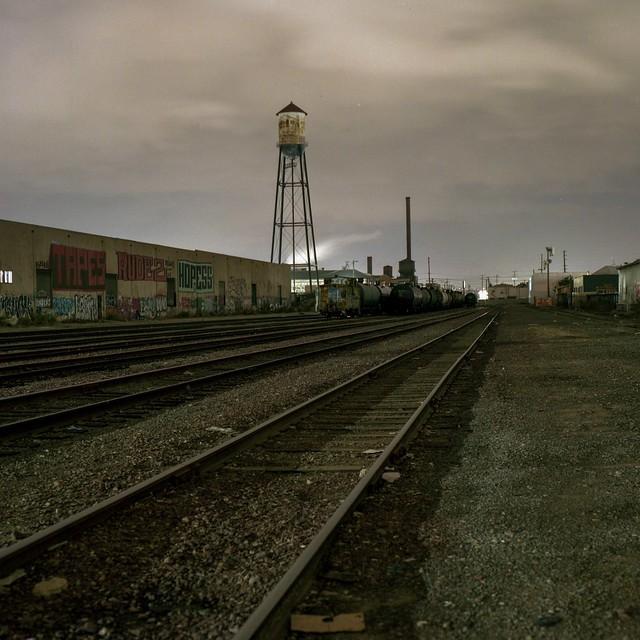 Tracks, tower
