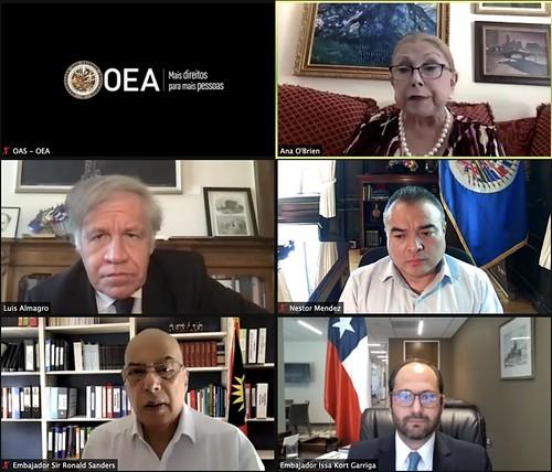 New Representative of Chile Presents Credentials