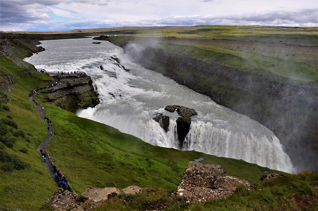 catarata-GULFOSS-Islandia