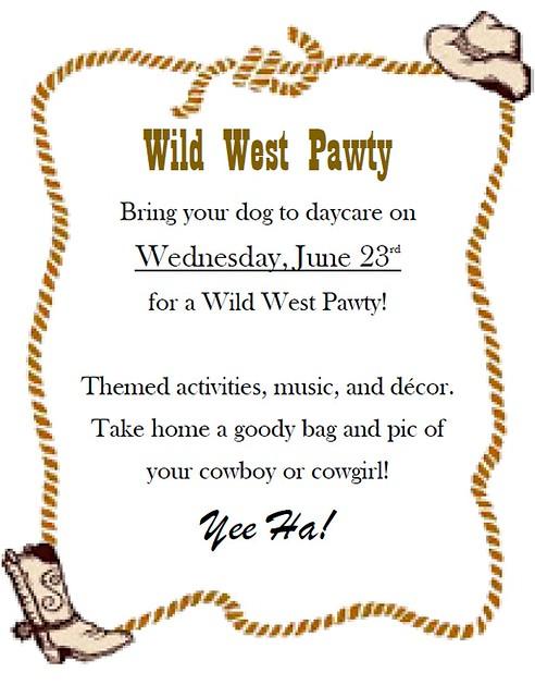 wild west pawty