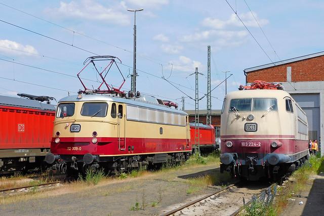 112 309-0 + 103 224-2 Nürnberg Rbf 16.06.21