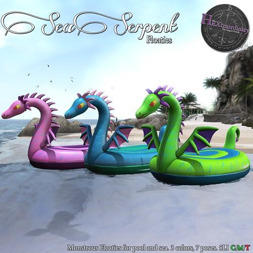 HEXtraordinary - Sea Serpent Floaties - Summerfest '21