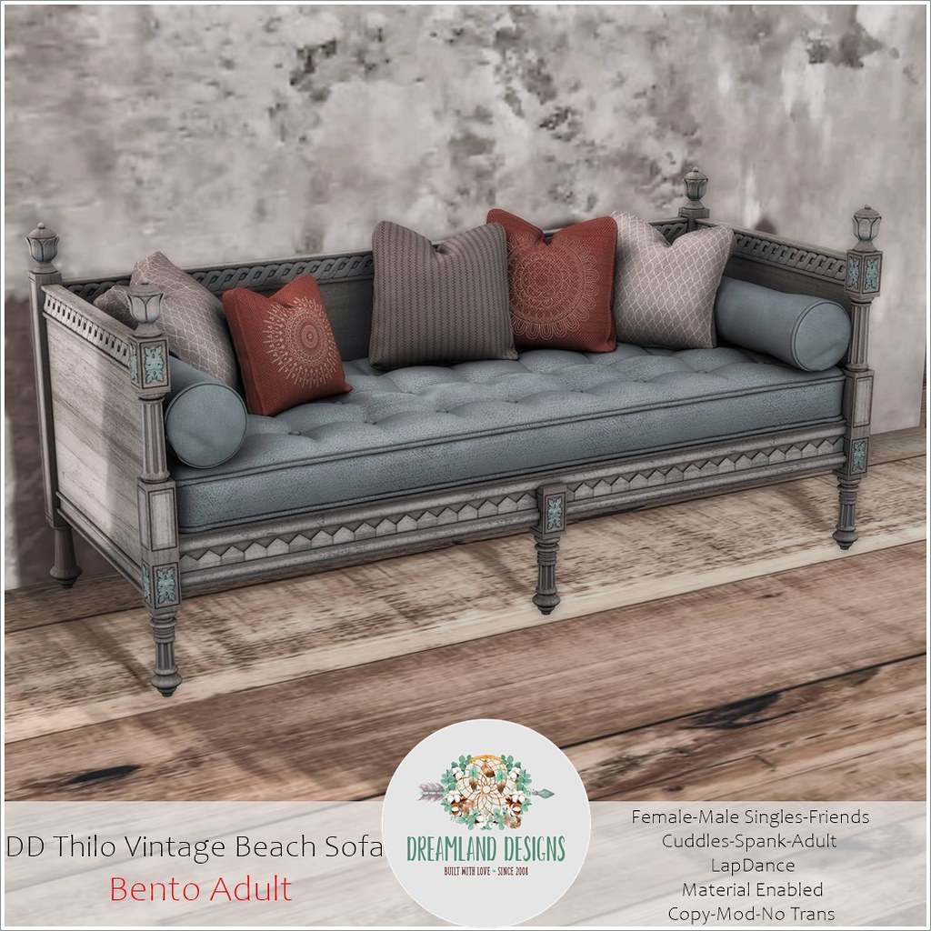 DD Thilo Vintage Beach Sofa-Adult