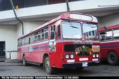 NB-9922 Udugama Depot Ashok Leyland - Viking 210 Turbo B+ type Bus at Nuwaraeliya in 11.02.2021