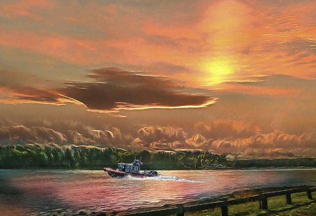Great Bay Sunset  109