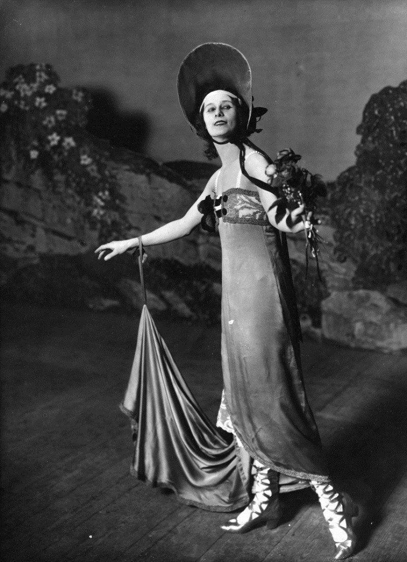1917. Анна Павлова на сцене
