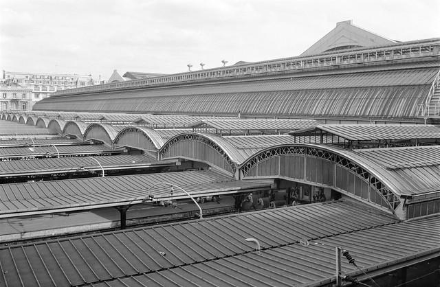 Gare de L'Est, Paris, France, 1990, 90-812-46