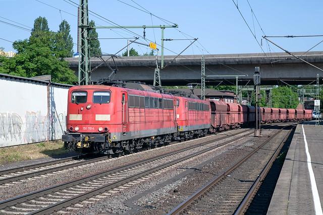Railpool 151 110 + 151 113 Hamburg Harburg